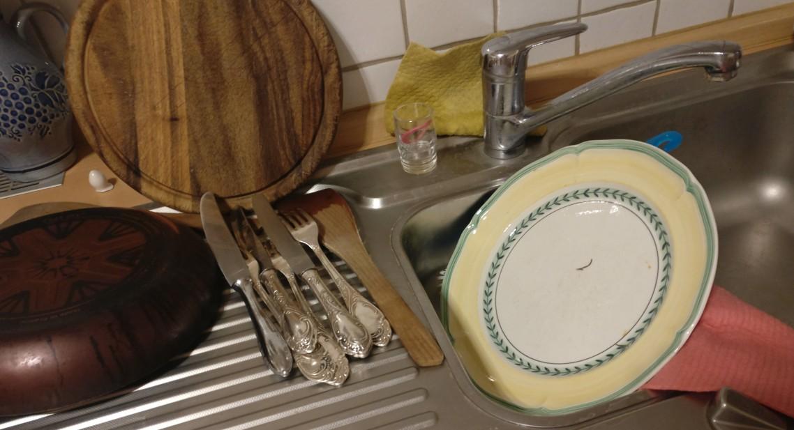 """Checkliste Ferienwohnung:  """"Reinigung Küche"""""""