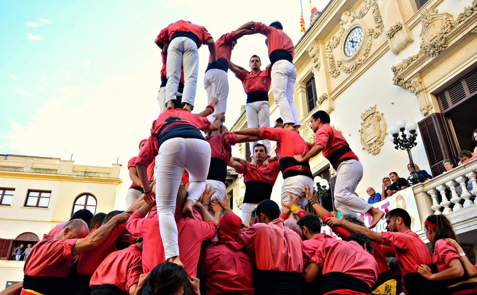 Die Menschentürme der Castells sind weithin bekannt. (#7)