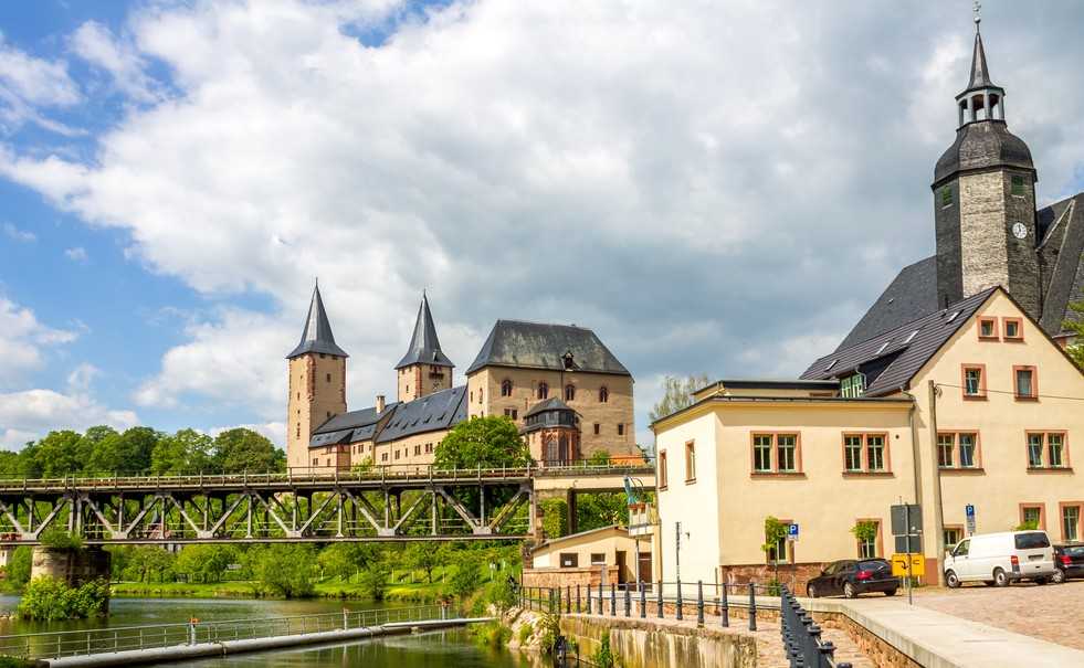 Von Kloster Wechselburg aus empfiehlt sich ein Besuch des nahegelegenen Schloss Rochlitz. (#2)