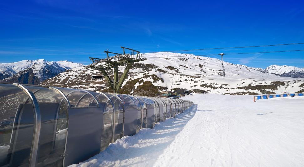 In Katalonien liegt das Ski Resort im Aran Tal (Pyrenäen,) nahe Baqueira auf der Hochebene am Cap de Baqueira. (#13)
