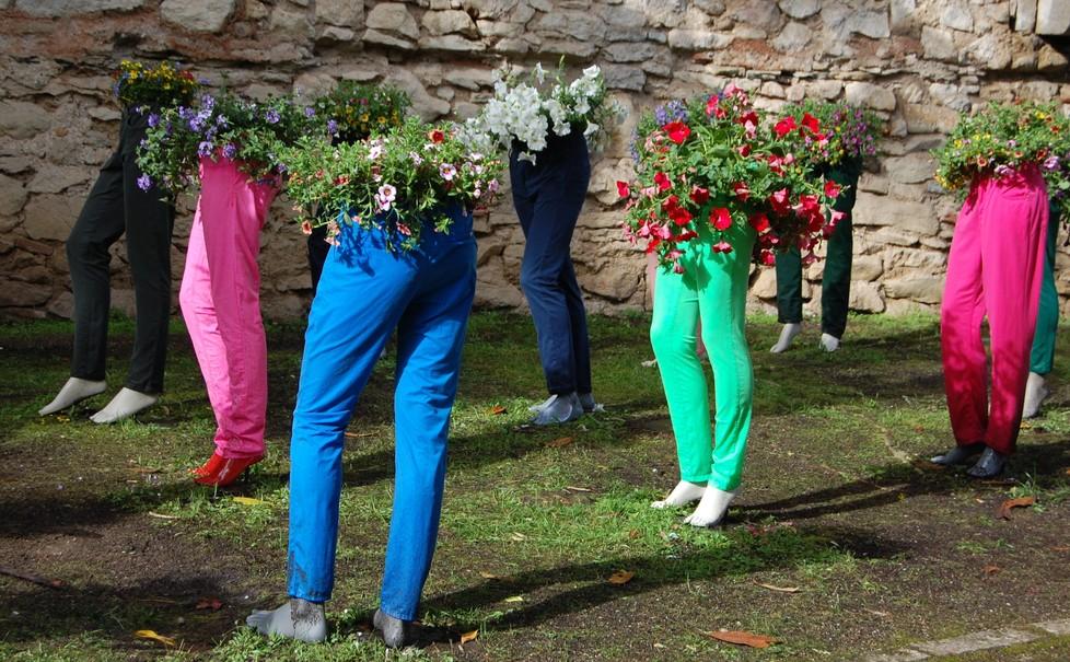 """Das Blumenfest """"Temps de Flors"""" in Girona. (#3)"""